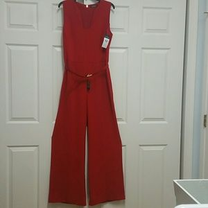 NWT Red Hot Size 12 Ralph Lauren Elegant Jumpsuit